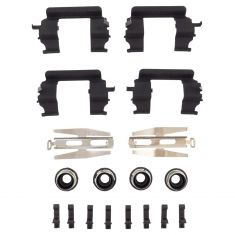 04-05 Rainier; 02-05 GM Mid Size SUV; 05 9-7X Front Disc Brake Hardware Kit