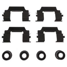 02-17 GM, Isuzu, Saab Mid Size Suv Rear Disc Brake Pad Hardware Kit