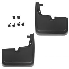 15-16 Ford F150 (w/o Lip Moldings) Custom Molded Front Splash Guard Mud Flap PAIR (Ford)