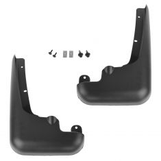 99-10 Ford F250SD-F550SD (w/Lip Moldings) Custom Molded Front Splash Guard Mud Flap PAIR (Ford)