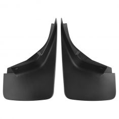 14-15 Chevy Silverado 1500-3500 Custom Molded Black Plastic Front Splash Guard Mud Flap PAIR (GM)