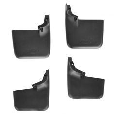 04-12 Ford F150 Styleside (exc 10-12 SVT) (w/o Wheel Lip Moldings) Mud Flap SET (FORD)