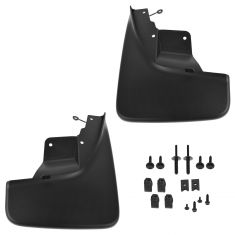 11-13 Jeep Grand Cherokee; 14 Grand Cherokee (exc Summit) Front Molded Splash Guard PAIR (MOPAR)