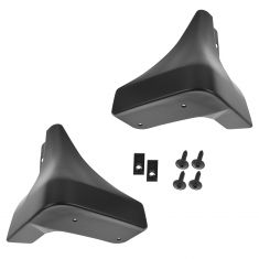 03-08 Nissan 350Z Front Black PTM Molded Splash Guard Mud Flap PAIR (Nissan)