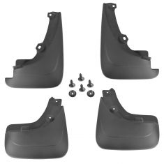 06-12 Toyota Rav4 (w/Fender Flares) Front & Rear Mud Flap Splash Guard Kit (Set of 4) (Toyota)
