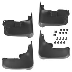 04-10 Toyota Sienna Front & Rear Mud Flap Splash Guard Kit (Set of 4) (Toyota)