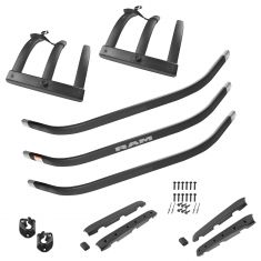 09-16 Ram 1500; 10-16 Ram 2500 3500 Black Tailgate Bed Extender Kit (Mopar)