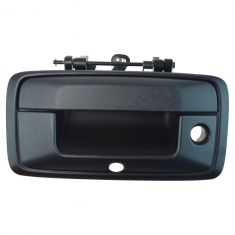 14-15 Silverado, Sierra 1500; 2015 2500, 3500 Textured Black Tailgate Handle (w/ Camera Provision)