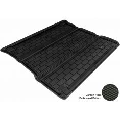 2011- Jeep Grand Cherokee, Dodge Durango Black Cargo Floor Liner