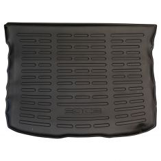 "11-14 Ford Edge Molded Black Rubber ""EDGE"" Logoed Cargo Area Protector Mat Liner (Ford)"