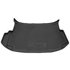 01-12 Escape; 05-11 Mariner (exc Hybrid) Molded Ebony Rubber Cargo Area Protector Mat Liner (Ford)