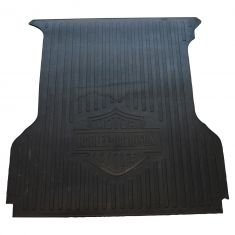 04-14 Ford F150 (w/5.5 Foot Bed) ~HARLEY-DAVIDSON~ Logoed Hvy Duty Molded Black Rubber Bed Mat (FD)