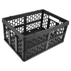 Mercedes Benz Multifit Rear Cargo Mounted Collapsible Storage Bin Shopping Crate Basket (MB)