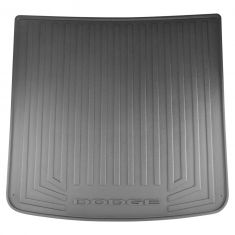 09-16 Dodge Journey Molded Black Rubber ~DODGE~ Logoed Cargo Area Tray Liner (Mopar)