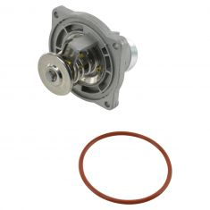 99 (frm 9/98)-01 BMW 540i, 740i, 740iL; 00-03 X5 w/4.4L Thermostat w/Housing & Temp Sensor