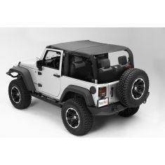 Pocket Island Topper, Black Diamond, 10-14 Jeep Wrangler (JK)