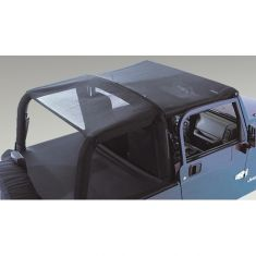 Mesh Header Roll Bar Top, 97-06 Jeep Wrangler (TJ)