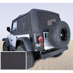 XHD Soft Top, Black Denim, Tinted Windows, 97-06 Jeep Wrangler (TJ)