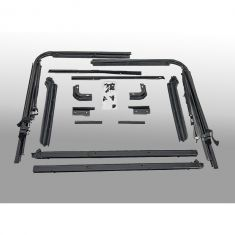 Factory Replacement Soft Top Hardware, 87-95 Jeep Wrangler (YJ)