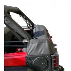 Soft Top Storage Boot, Black Diamond, 07-14 Jeep Wrangler (JK)
