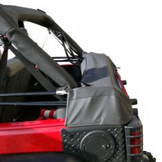 Soft Top Storage Boot, Black Diamond, 07-14 Jeep Wrangler (JK) 4-Door