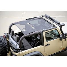 Eclipse Sun Shade, Black, 2-Door, 07-14 Jeep Wrangler (JK)
