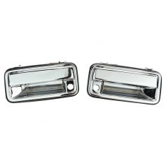 95-01 GM Truck CHROME Outer Front Door Handle Pair