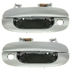 1994-02 Dodge Ram Pickup Truck Chrome Outside Door Handle Pair