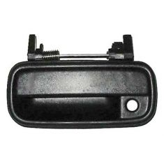 1989-95 Toyota Pickup 4 Runner Door Handle Outside Black LH