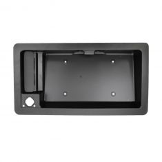 08 Ford Van; 09-11 Van (w/o Rear Camera) Rear Cargo Outside Door Handle w/License Plate Housing RR