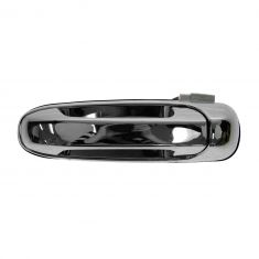 02-08 Dodge Ram 1500; 02-09 2500 3500; 05-11 Dakota 06-09 Raider Rear Door Outer Chrome Handle LR
