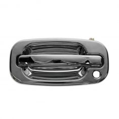 99-07 Silverado, Sierra, XL, Yukon, Tahoe, Suburban Chrome Outside Door Handle LF