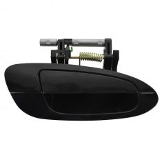 02-06 Nissan Altima Rear Outer Smooth Black Door Handle RR