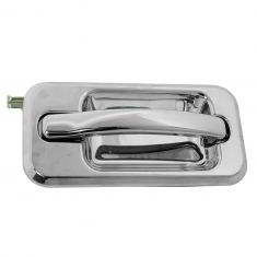 06-09 Hummer H2 Front All Chrome Outside Door Handle (w/o Keyhole) RF