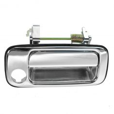 91-97 Toyota Land Cruiser Front Chrome Exterior Door Handle (w/Keyhole) RF