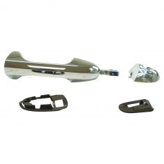 04-08 Chrysler Pacifica Outside Chrome Door Handle LF