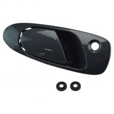 92-95 Honda Civic; 93-97 Del Sol Front Exterior Carbon Fiber Look Door Handle RF