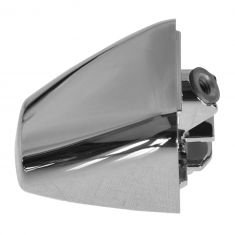 06-10 Hum H3; 09-10 H3T Front Door, Rear Door, or Lift Gate Chrome Door Handle End Cap LH = RH (GM)