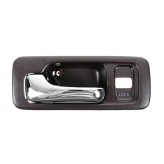 Red 4 door with Power Locks Drivers Front Interior Door Handle