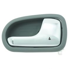 95-03 Mazda Protg Chrome & Gray Inside Door handle RF & RR