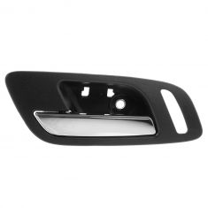 07-12 Cadillac Escalade, EXT, ESV Front Door Inside Handle (Ebony & Chrome) LF