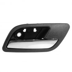 07-12 Cadillac Escalade, EXT, ESV Front or Rear Door Inside Handle (Ebony & Chrome) RH