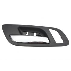 07-12 GM Full Size PU & SUV (w/Htd Seat & Memory) Front Door Inside Handle (Ebony & Chrome) LF