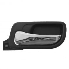 03-07 Honda Accord Sedan Rear Inside Black Door Handle LR
