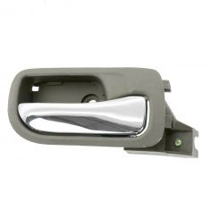 03-07 Honda Accord Sedan Rear Inside Taupe Door Handle RR