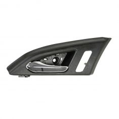 08-12 Cadillac CTS, CTS-V Sedan (w/Memory) Front Inner Black & Chrome Door Handle Repair Kit LF