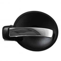 08-10 Dodge Charger; 07-08 Magnum Inner (Black Bezel w/Chrome Lever) Door Handle LF = LR