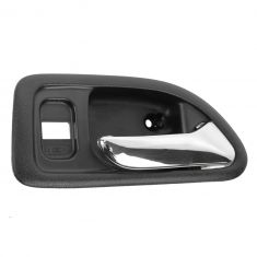 94-97 Honda Accord 4DR (w/Power Locks) Front (Black w/Chrome Lever) Inside Door Handle RF