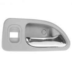 94-97 Honda Accord 4DR (w/Power Locks) Rear (Light Gray w/Chrome Lever) Inside Door Handle RR