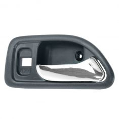 94-97 Honda Accord 4DR (w/Power Locks) Front (Blue w/Chrome Lever) Inside Door Handle RF